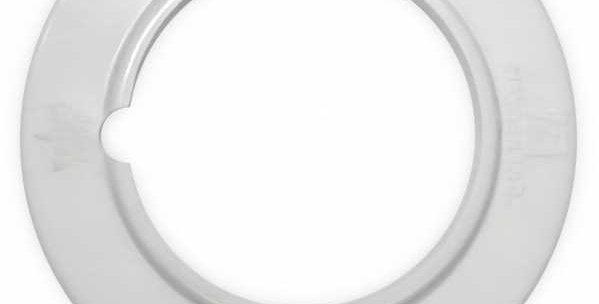 Anneau pvc blanc cache trou accessoires aspiration drainvac CO-0601