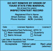 Commercial Fire Inspections