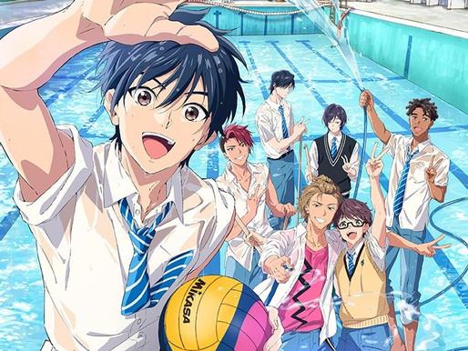 MAPPA & Masafumi Nishida's 'RE-MAIN' water polo sports anime reveals key visual and July 3 debut
