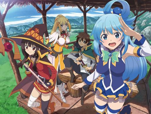 'KonoSuba: God's Blessing on this Wonderful World!' announces new anime project