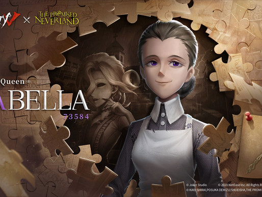 'Identity V' horror mobile game reveals Isabella's visual for The Promised Neverland crossover event