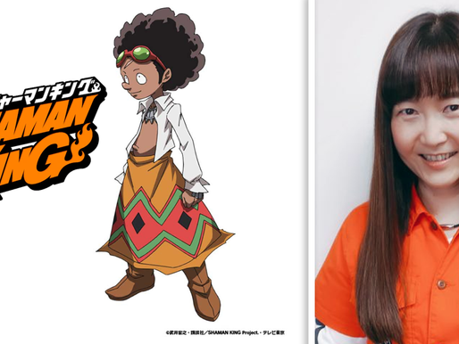 Shaman King's Chocolove original voice actress Motoko Kumai returns to reprise role in 2021 reboot