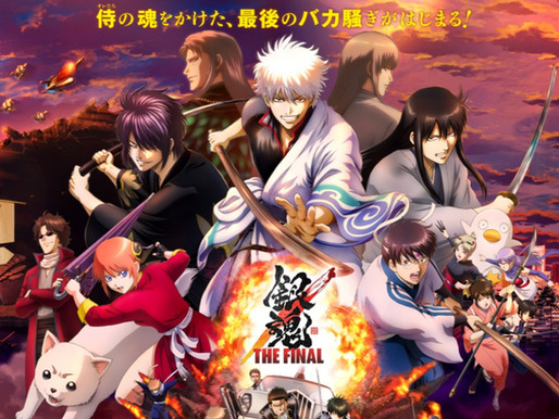 'Gintama: The Final' grabs the highest-grossing anime film opening record in Gintama history