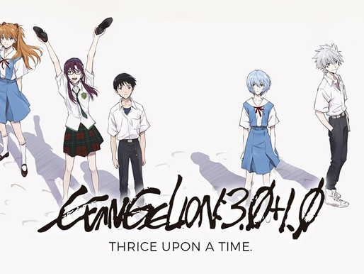 'Evangelion: 3.0 + 1.0 Thrice Upon a Time' anime film postpones opening anew due to COVID-19