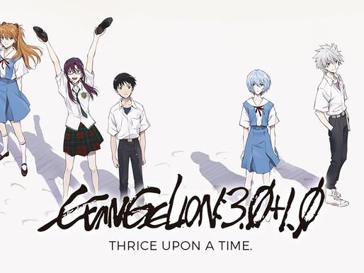 'Evangelion: 3.0 + 1.0 Thrice Upon a Time' anime film exceeds ¥3.3 billion sales in just 7 days