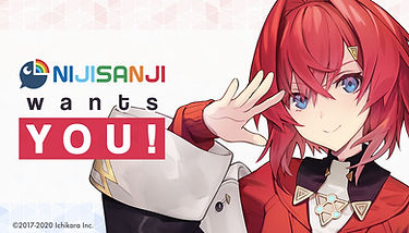 NIJISANJI, one of Japan's largest VTuber project is looking for 'creators' for their Official English YouTube Channel