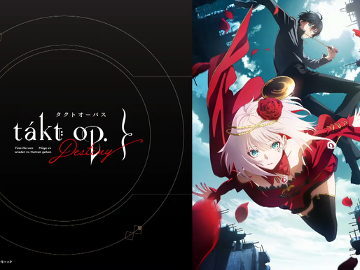 'takt op.Destiny' TV anime series by MAPPA x Madhouse announced, set to premiere on October 5