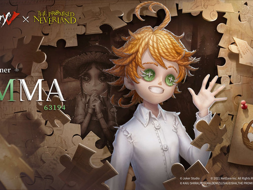 'Identity V' horror mobile game releases Emma's visual for The Promised Neverland crossover event