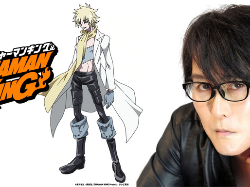 Faust VIII's original voice actor Takehito Koyasu returns to reprise role in Shaman King 2021 reboot