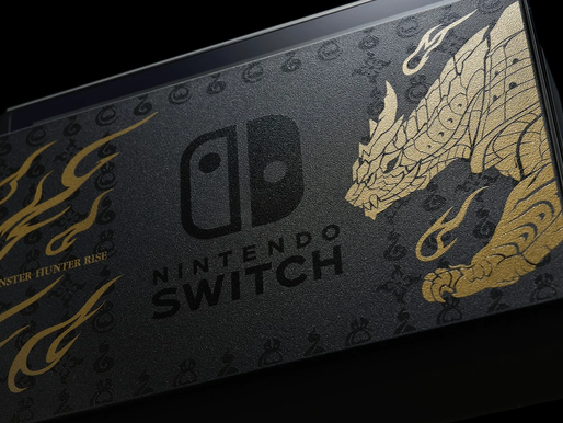 Nintendo showcases 'Monster Hunter Rise' Special Edition Nintendo Switch console and Pro controller