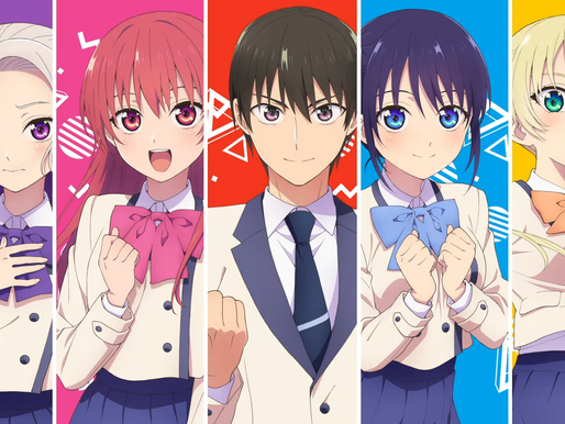 'Kanojo mo Kanojo' TV anime series reveals new PV, cast members and July 2021 debut
