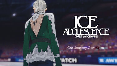 'Yuri!!! on Ice: Ice Adolescence' anime film announced to be in production, PV revealed in public
