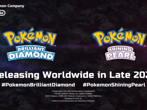 Pokémon Sinnoh remakes 'Brilliant Diamond' and 'Shining Pearl' is coming to the N.Switch this 2021