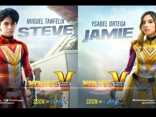 Philippine live-action adaptation 'Voltes V: Legacy' reveals actors to play Steve and Jamie's role