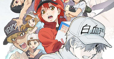 'Cells at Work!! Season 2' and 'Cells at Work: Code Black' TV anime series will air back to back on January 9, 2021