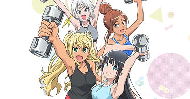 """""""How Many Kilograms Are The Dumbbells You Lift?"""" anime is coming to Netflix PH, other territories on Nov. 20"""