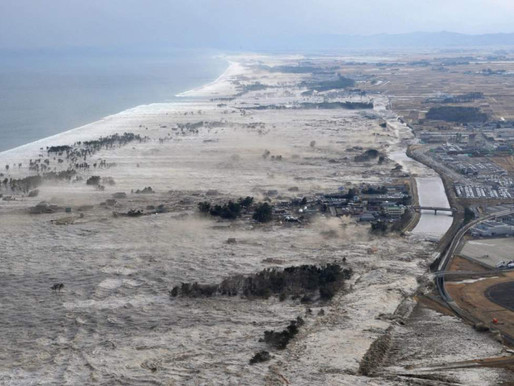 #TodayInHistory:  March 11 - The 10th Year Anniversary of the 2011 Tōhoku Earthquake and Tsunami