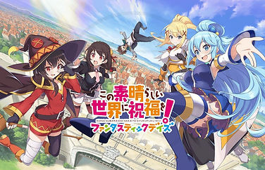 """""""KonoSuba Fantastic Days"""" mobile role-playing game is launching globally on iOS and Android in 2021"""