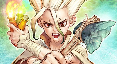 'Dr. Stone' manga reaches over 8,000,000 copies in circulation worldwide