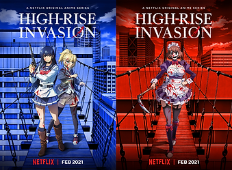 """Survival horror manga series """"High-Rise Invasion"""" is receiving an anime adaptation to stream in February 2021 on Netflix"""