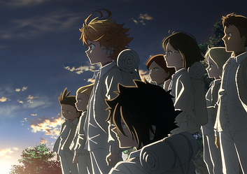 """The Promised Neverland"" Season 2 TV anime series premieres January 7, 2021 (effective Jan 8 at 1:25 AM)"