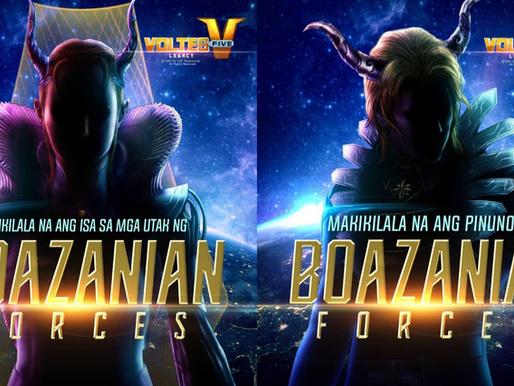 Philippine live-action adaptation 'Voltes V: Legacy' reveals Boazanians Zardoz and Zandra actors