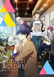 'A3! Season Autumn & Winter' TV anime series premieres October 12, new key visual for Season Winter released