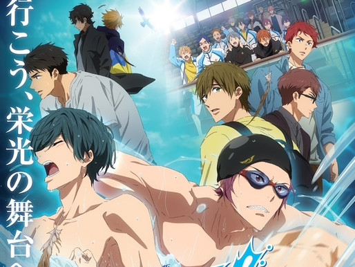 'Free! -The Final Stroke- Part 1' anime film reveals visual and new teaser, opens Sept 17 in Japan