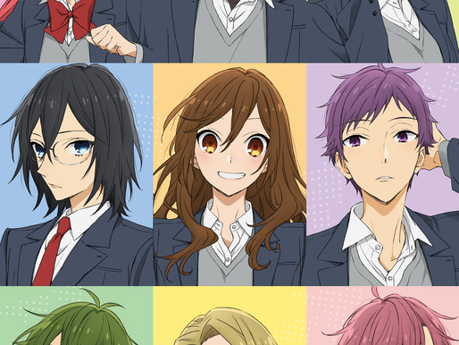 'Horimiya' TV anime series is listed with 13 episodes