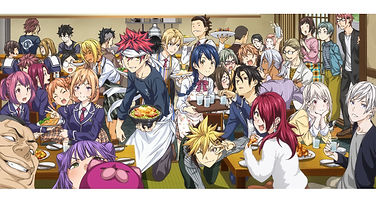 """Osomatsu!"". 'Food Wars! Shokugeki no Souma' TV anime series has officially ended after 5 successful years"