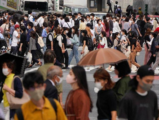 Tokyo reports highest daily COVID-19 tally with 2,848 new cases amid the Olympic Games