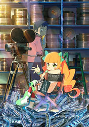 'Pompo: The Cinéphile' anime film has been postponed to Spring 2021
