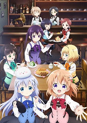 """""""Is the Order a Rabbit? Season 3: BLOOM"""" TV anime series released its 3rd PV, series premieres October 10, 2020"""