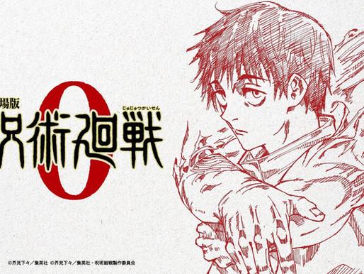 Jujutsu Kaisen announces 'Jujutsu Kaisen 0' anime film, set to open this Winter