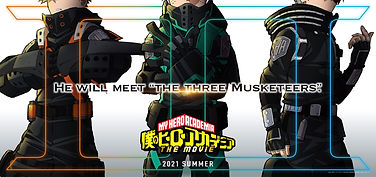 'My Hero Academia' 3rd anime film has been scheduled to open in Japanese theaters in Summer 2021