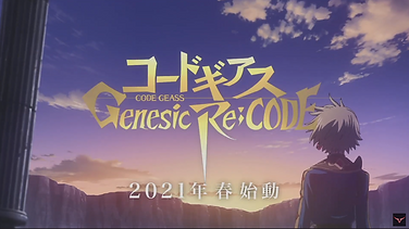 """Code Geass Genesis Re: CODE"" mobile game has been announced, game to launch in 2021"