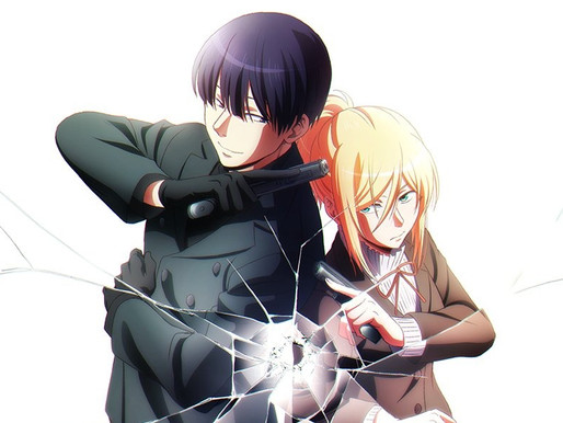 'Love of Kill' action-romance TV anime adaptation reveals key visual and PV, set to air in 2022