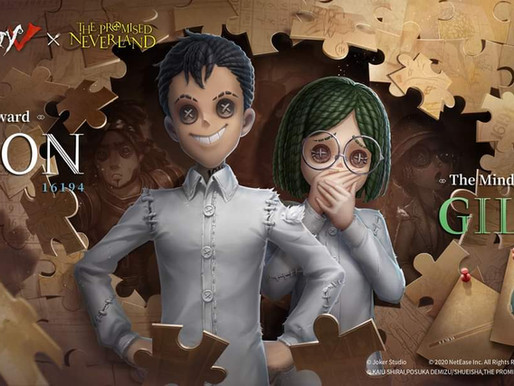 'Identity V' mobile game reveals Don, Gilda's visual for The Promised Neverland crossover event