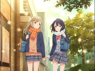 Yuri light novel series 'Adachi and Shimamura' TV anime adaptation premieres October 8, new key visual and PV