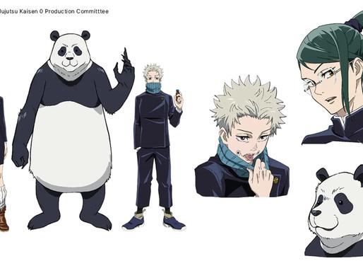 'Jujutsu Kaisen 0' anime film reveals Zenin Maki, Inumaki Toge, Panda's first-year character designs