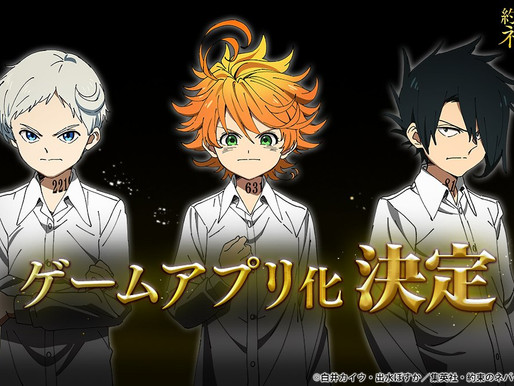 'The Promised Neverland' TV anime announces game adaptation