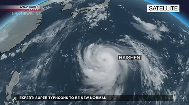 Maximum alert raised as Japan braces for Super Typhoon Haishen approaching towards Okinawa and Kyushu