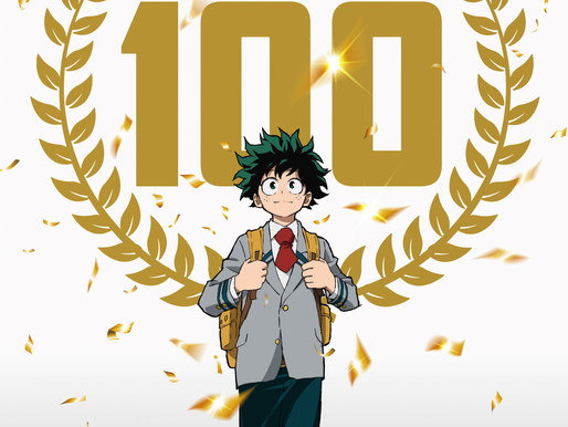 'My Hero Academia' TV anime reveals commemorative visual for the series' 100th Episode release