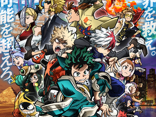 'My Hero Academia the Movie: World Heroes' Mission' anime film reveals new key visual, opens Aug 6