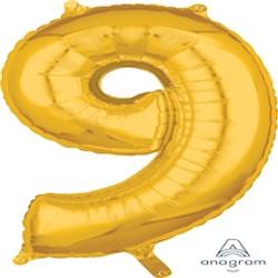 "34"" Gold 9"