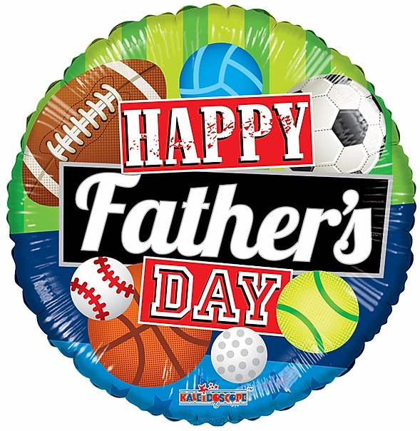 """18"""" Sports Fathers Day"""