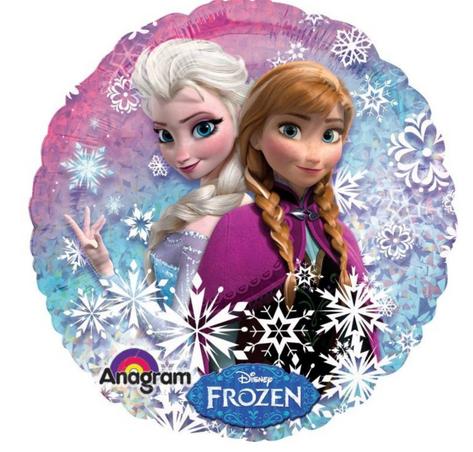 "18"" Holographic Frozen"