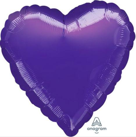 """18"""" Purple Heart"""