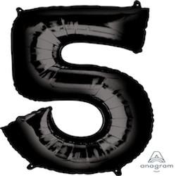 """34"""" Black 5"""