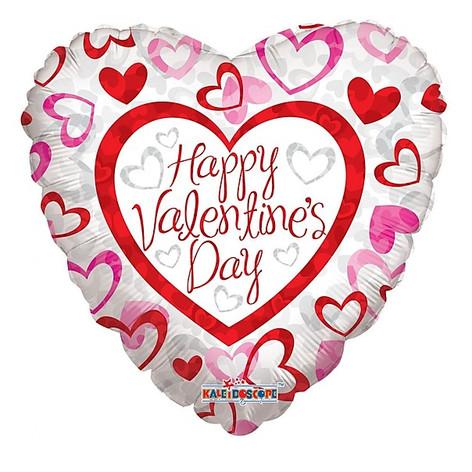 "18"" Valentines Day Pattern Hearts"